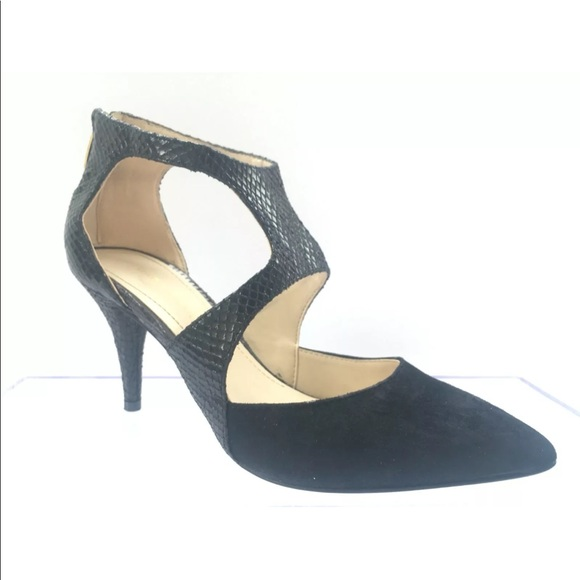 Marc Fisher Shoes - Marc Fisher Kabriele Ankle Strap Pumps Black 5.5